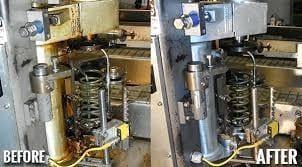 sodowanie   maszyny wyczyszczone