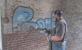 sodowanie   czyszczenie muru